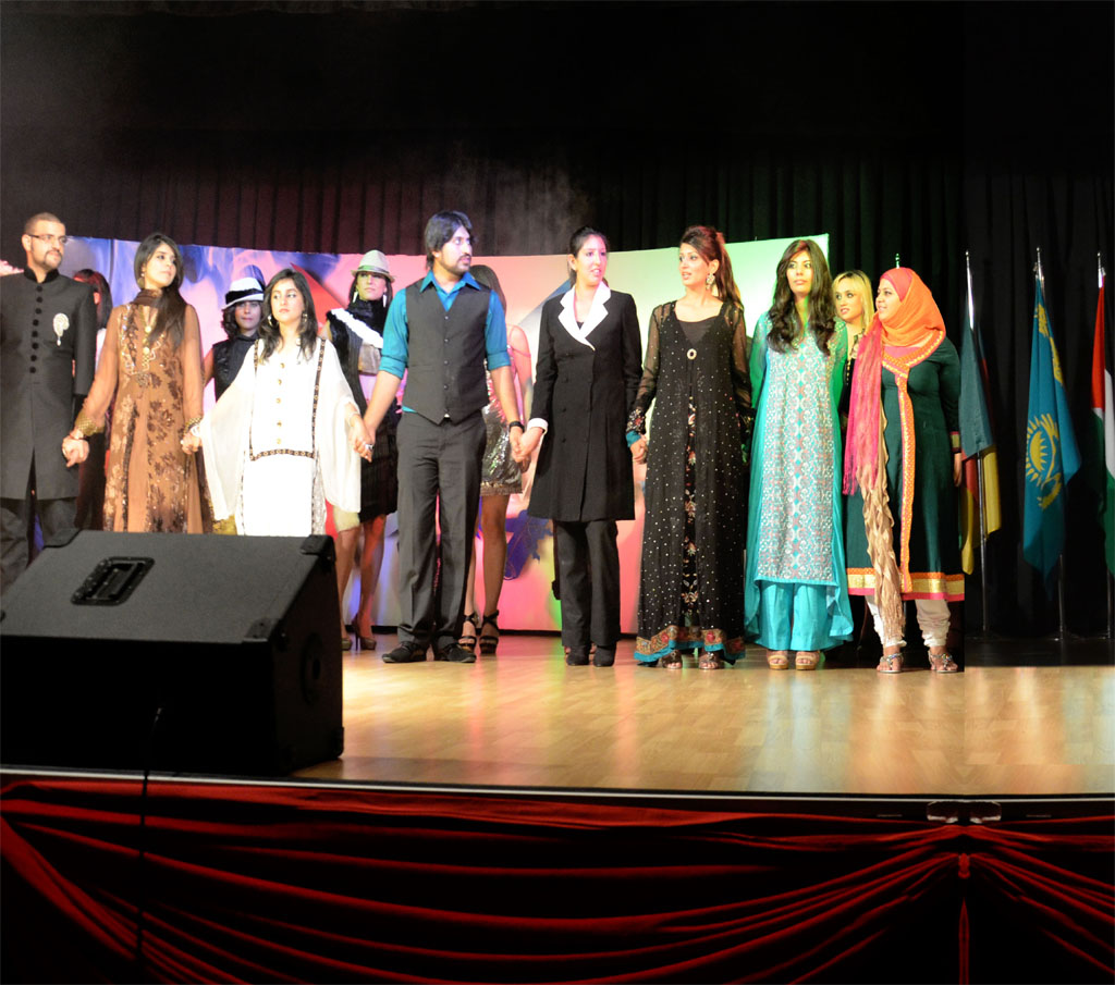 Fashion Event Held By The Girne American University
