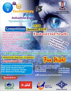 Technology Fair GCUF
