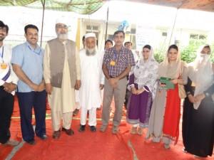 A group photo of GCU Faisalabad delegate with Prof. Marwat, Prof. Anwar Nasim & Prof. Shinwari at Kumrat Valley, Upper  Dir