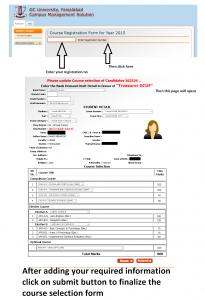 Registration form Online Procedure