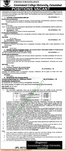 Government-College-University-Faisalabad-Jobs